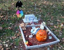 gravesite decorations a grave blanket crafts and decorations forum gardenweb