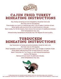 ordering turkey for thanksgiving online cajun fried turkey order in atlanta ga copeland u0027s