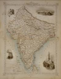 British India Map by Welcome To Moti Art
