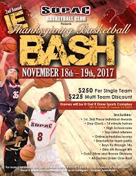 ie thanksgiving bash youth basketball tournaments indihoops