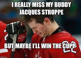 Jacques Meme - sad hockey player memes imgflip