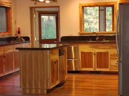Rustic Hickory Kitchen Cabinets Custom Cabinets John Tanner General Building
