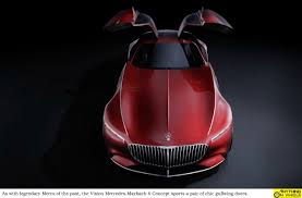 maybach sports car anything on wheels vision mercedes maybach 6 concept leaks online