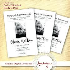 memorial booklet template memorial booklet template zoom free funeral service