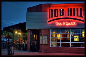 nob hill bar and grill an upscale joint