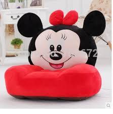 canapé minnie 54x45 cm minnie en peluche jouet doux tatami canapé coussin de