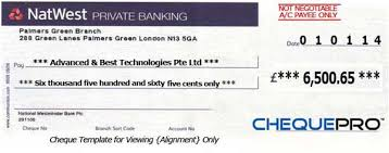 cheque printing writing software for united kingdom bank template