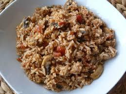 cuisiner thon frais riz au thon à la tomate aux chignons frais goût allégresse