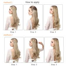 halo hair sarla 22 straight hairpiece weaving halo hair extension synthetic