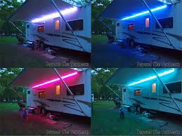 travel trailer led lights fun with lights spicing up your cer with led lights beyond