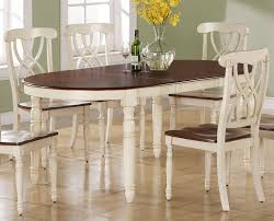 White Dining Room Furniture For Sale - kitchen impressive ohana white round dining room set casual