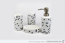 Trendy Modern Bathroom Accessories Set Home Design Lover - Bathroom accessories design