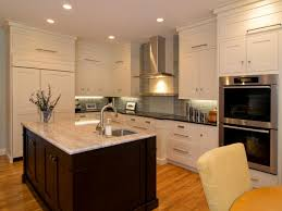 Brown And White Kitchen Cabinets Shaker Kitchen Cabinets Pictures Ideas U0026 Tips From Hgtv Hgtv