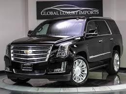 cadillac escalade 2015 black 2015 cadillac escalade platinum pre owned luxury car dealer