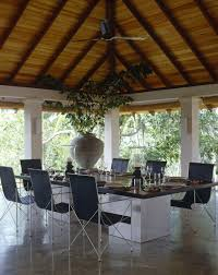 Tropical Dining Room by Tropical Porch Photos 3 Of 15