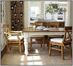 Pottery Barn Dining Room Chair Cushions Chairs  Home Decorating - Chair cushions for dining room