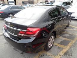 2014 used honda civic sedan storm damage clean car ready to go