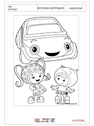 team umizoomi coloring pages printable virtren com