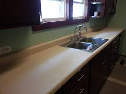 countertops refinished with rustoleum stone effects spraypaint and