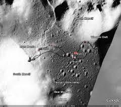 Picture Of Flag On Moon Google Moon Luna C I Moon Colonization And Integration