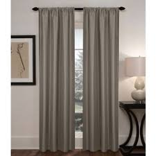 Bed Bath And Beyond Thermal Curtains Sebastian Rod Pocket Insulated Total Blackout Window Curtain