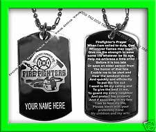 Personalized Dog Tags For Couples Firefighter Dog Tag Ebay