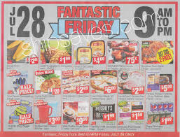 weis fantastic friday sale july 28 ship saves