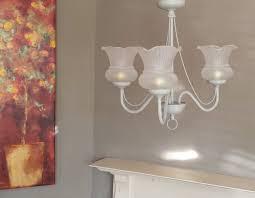 Paris Pendant Light by Flush Ceiling Light Fixture Unique Upcycled Lighting Hand Painted