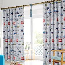 Car Interior Curtains Cute Cartoon Curtain For Kid With Cars Pattern