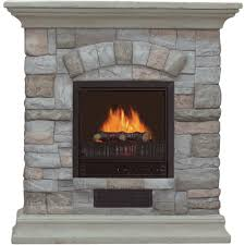 How To Make Gel Fuel For Fireplace Electric Fireplace With Mantel And Multicolor Stone Facade U2014 5115