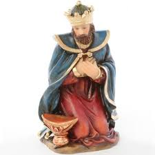 roi mage canapé santon de noël roi mage melchior achat vente santon figurine