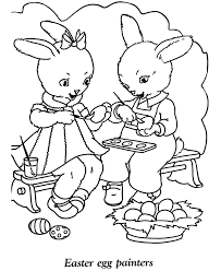 free printable easter egg coloring pages easter kids coloring pages free printable easter egg painters