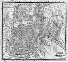 Louisiana City Map by Nopl Louisiana Map Collection