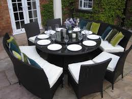 telescoping dining table large round dining table seats 8 inspirational interior home