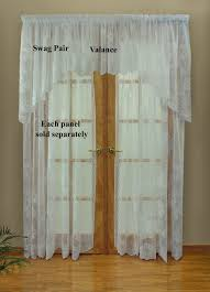 halloween lace curtains lace curtains traditional and insulated styles tailored panel