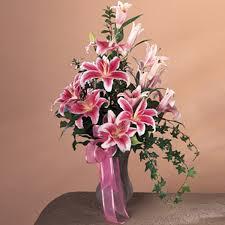 Star Gazer Lily Stargazer Lily Vase Arrangement