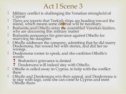 themes in othello act 1 scene 3 othello notespp act1