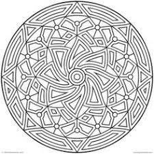 complex coloring pages adults free printable abstract
