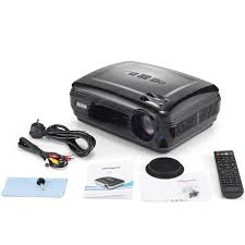 1080p home theater projector gigxon g58 3200 lumens portable 1080p home theater projector led