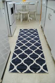 Striped Kitchen Rug Runner 25 Top Superlative Black And White Striped Kitchen Runner Modern