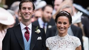 pippa middleton wedding meghan markle prince harry attend reception