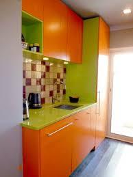 cuisine couleur orange awesome cuisine de couleur vert et oronge photos design trends