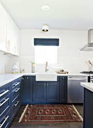 Kitchen Design Picture The Pair Navy Gold Gold Kitchen Kitchen Design And