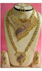 wedding gold sets bridal gold jewellery sets arabian gold necklace collection