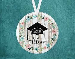 personalized graduation ornaments graduation ornaments etsy