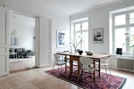 deco moderne chambre tapis persan moderne tapis persan dans le salon contemporain en 33