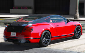 red chrome bentley bentley supersport 2017 1 0 add on replace gta5 mods com