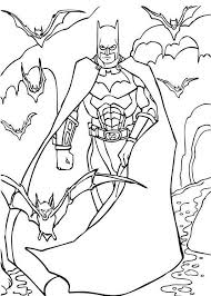 batman coloring pages free kids coloring