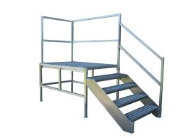 52 prefabricated aluminum stairs steel and aluminum stairs for