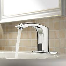 Touchless Bathroom Faucets by Centerset Chrome Brass Widespread Waterfall Two Handles Touchless